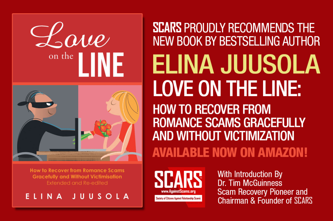 The New Book By Bestselling Author Elina Juusola: Love On The Line - An Official SCARS Recommended Book