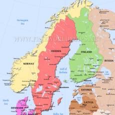 Norway, Sweden, Denmark