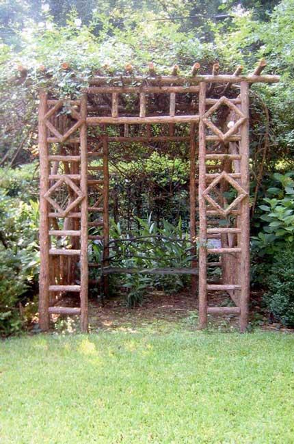 Rustic Arbors Amp Pergolas Wedding Chuppahs Branch Trellises For Sale