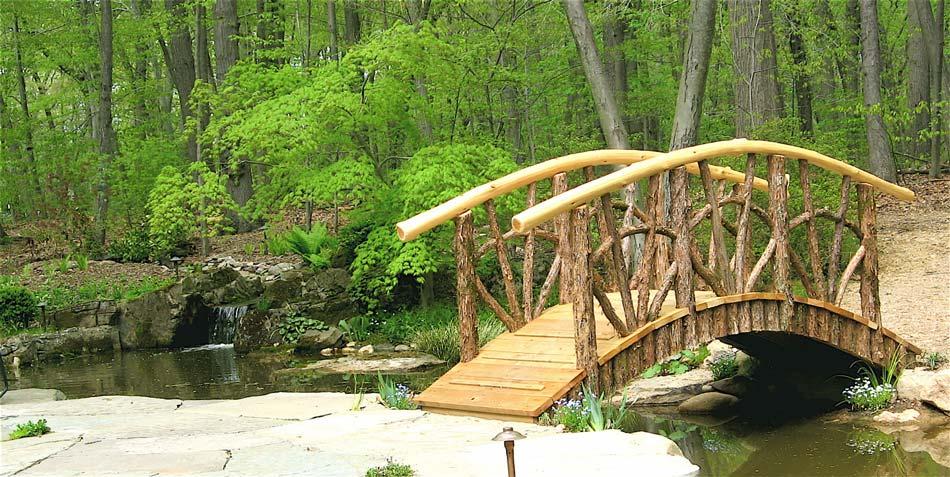 Rustic Bridges Amp Walkways Garden Bridges Pedestrian