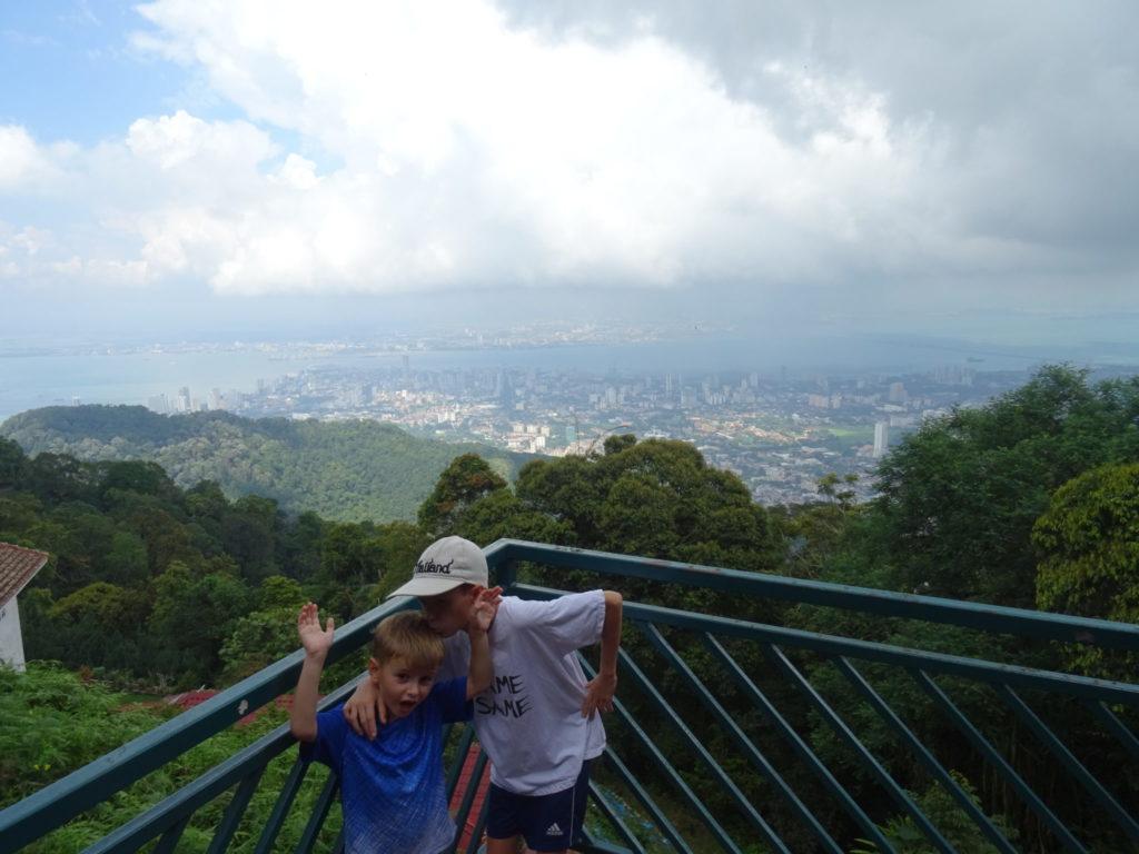 Penang Hill : GeorgeTown vu de haut