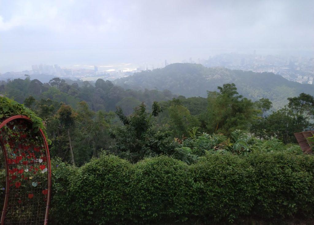Penang Hill : l'île vue de haut