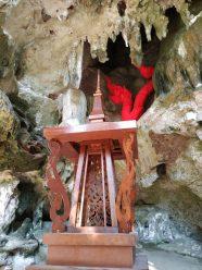 Railay, Thailande : temple sous la falaise