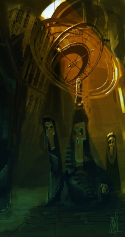 Throne Room | Concept Art for Polycount's Throne Room Contest 2015