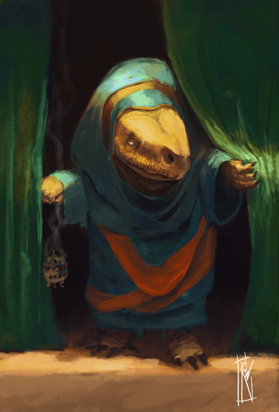 The Merchant | Personal work