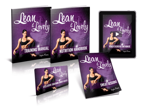 Lean & Lovely bundle - kettlebells for women
