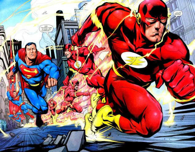 Flash_vs._Superman