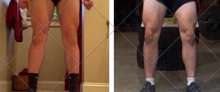 legs progress pic