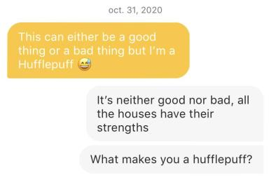 harry potter dating apps