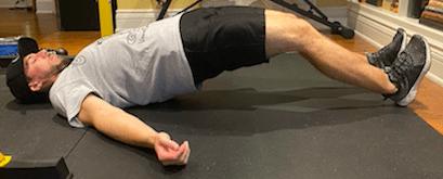 hamstring curl bottom position