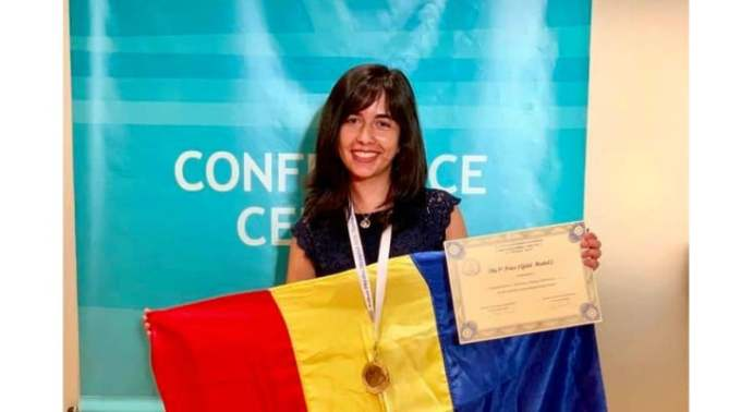FELICITARI! Medalie de AUR pentru Mălina Constantinescu la Olimpiada Balcanică de Fizică 1