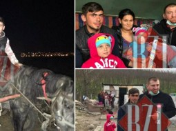 """Gest superb făcut de Cătălin Moroșanu pentru Sergiu, tatăl plecat cu calul să își vadă fiul nou născut. """"Sunt mândru de el, puțini ar fi făcut ce a făcut el. Vreau să îl ajutăm să își construiască o casă."""" 22"""