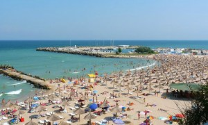 Liber la plajă