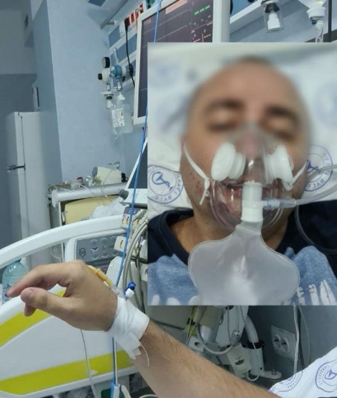 """Infectați. Europol: """"Colegul nostru și soția acestuia sunt conectați la masca de oxigen ...În timp ce zeci de confirmați asimptomatici ocupă locurile din spitalele Covid, cei cu probleme reale cum e și cazul colegului, au fost trimiși acasă pe motiv că nu mai sunt locuri"""" 1"""