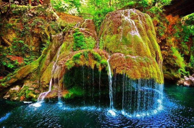 (Video) Vezi cum a fost transformată Cascada Bigăr, o minune a naturii, cu 140.000 de euro 1