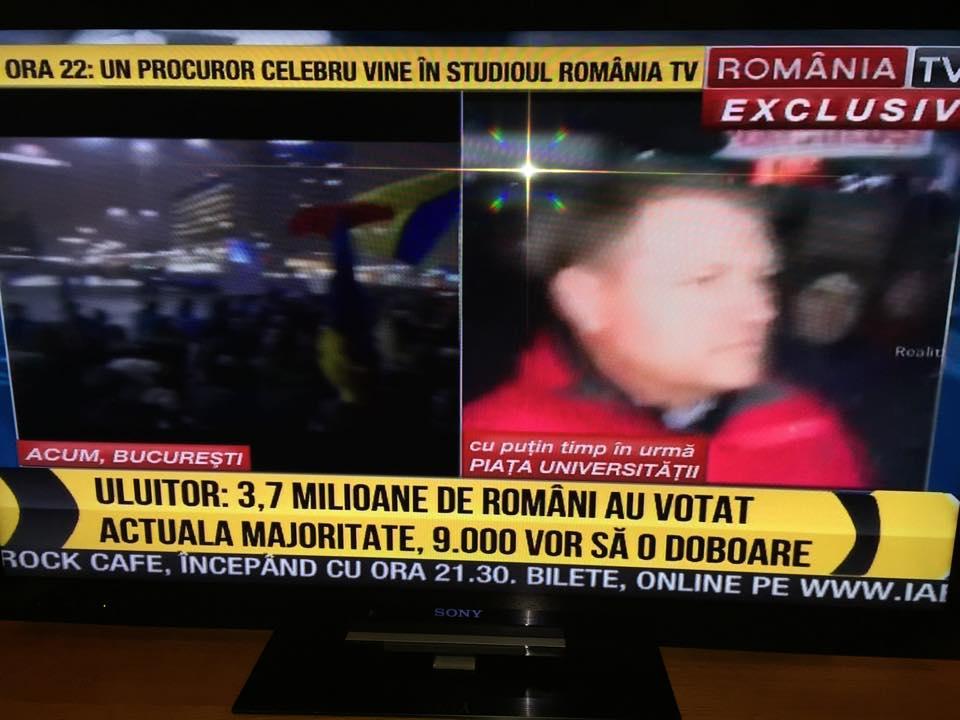 UPDATE! Proteste România! 20,000 la București, 6,000 la Cluj, 3,000 la Brașov au speriat Romania Tvși Antena 3. Vezi ce alte manipulări se încearcă: