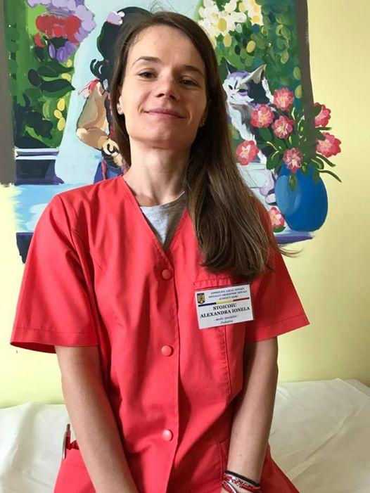 """""""Sunt mandru de Alexandra ... e singurul medic din spital care nu accepta nici in ruptul capului """"cadouri"""" 1"""