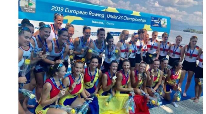 FELICITĂRI! Canotaj: România a cucerit 9 medalii de aur la Campionatele Europene Under 23 din Grecia 1