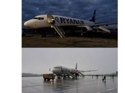 """Wizz Air vs Ryan Air. Dumitru: """"Aspecte negative Ryan Air: personalul foarte rece, politicos dar fără sa zâmbească, neatractiv, aterizări foarte brutale, neacceptarea leului ca moneda de tranzacție la bord ...Minusuri Wizz Air: """" 6"""