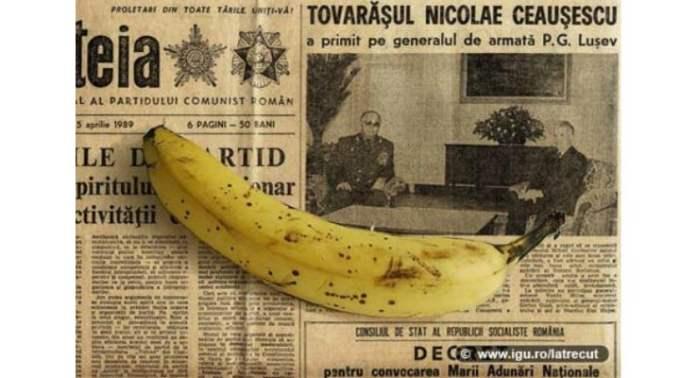 """Comunismul în România. Mihai Matei: """"Sunt unul dintre copiii născuți în anii '80. Banane ne-au dat o singură dată în zece ani...am prins și eu un loc la coadă ...Aveam vreo 7-8 ani. Apoi a venit tot cartierul și s-a făcut o coadă mare. Bărbații se loveau, femeile urlau și plângeau, bătrânii leșinau. ..un copil ceva mai mic decât mine a fost călcat în picioare de mulțime. O salvare a ridicat un trup inert și din câte știu acel copil a murit. Pentru două mizerii de banane. Pe la două noaptea am ..."""" 1"""
