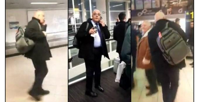 """(Video) Raed Arafat certat pe Aeroport. """"Demisia, asta vreau, sincer, atâta tot, nu e greu. Să vă daţi demisia domnu' Arafat! Colectiv, domnu' Arafat, nu uitaţi"""" 11"""