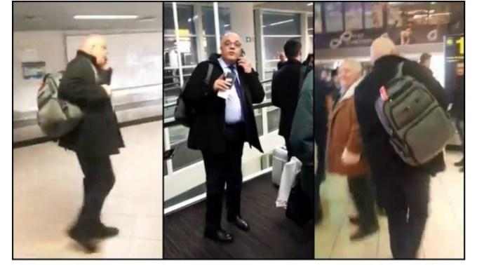 """(Video) Raed Arafat certat pe Aeroport. """"Demisia, asta vreau, sincer, atâta tot, nu e greu. Să vă daţi demisia domnu' Arafat! Colectiv, domnu' Arafat, nu uitaţi"""" 1"""