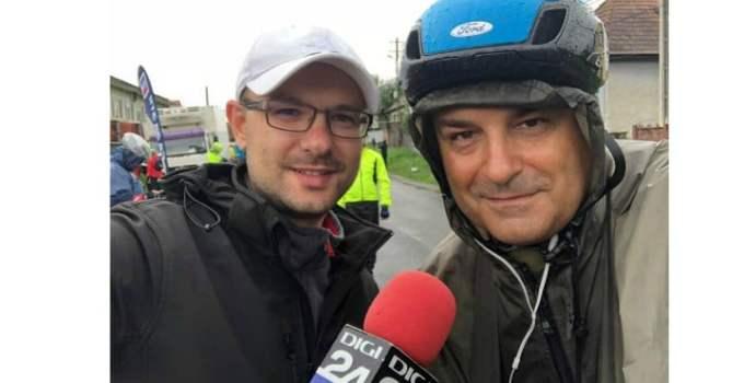 """Lucian Mindruta:  """"Oare ce-o fi vrut sa ne spuna Romania, de ne-a dat ploaie in fiecare zi la turul pe care il facem in onoarea ei? Sa intelegem ceva de aici?  Sa credem ca mai sunt ..."""" 8"""