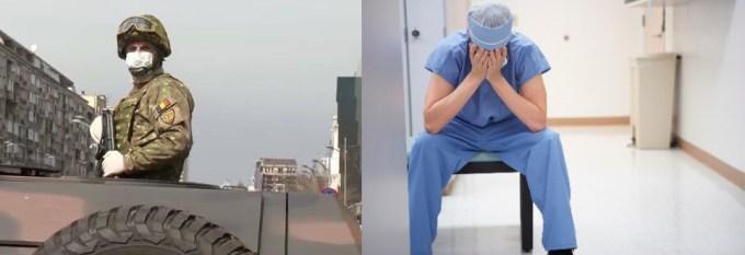 """C. T. Popescu: """"Blindate pe străzi și soldați cu automatul de gât, ca să ce? Ca să împuște coronavirușii care invadează cadrele medicale și spitalele lipsite de apărare, călărind pe manageri idioți și iresponsabili?"""" 2"""
