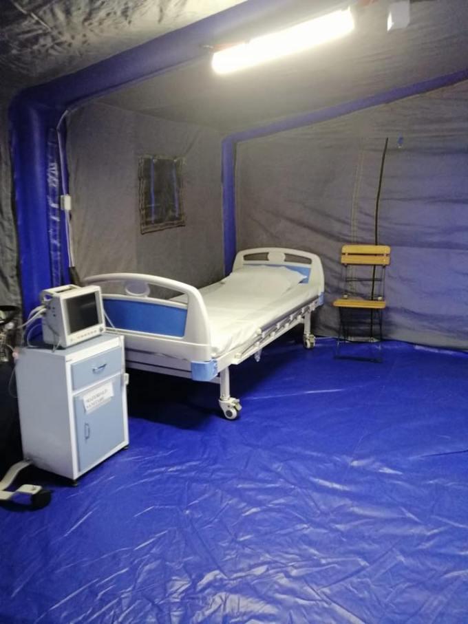 """(Foto) Așa arată un spital din România cu depozitele pline de echipamente anti-coronavirus """"Magazia spitalului a fost aprovizionata astfel incat sa se asigure un stoc de rezerva pentru o perioada de 45 de zile. Atașăm poze făcute în această dimineață!"""" 6"""