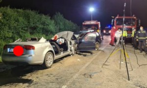 (Video) 4 morți și 4 răniți grav într-un accident pe DN 19B 41