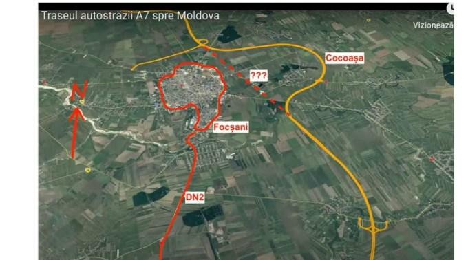 Autostrada cu cocoașă din România