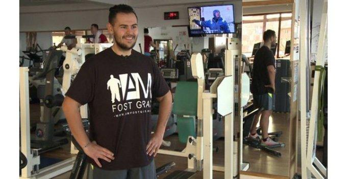 """Românul care a slăbit 80 de kilograme şi a devenit profesor de fitness lansează un proiect prin care să ajute mii de români supraponderali. """"Atinsesem pragul de 180 de kilograme. Viaţa mea arăta groaznic, arăta oribil"""" 4"""