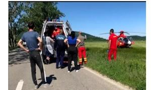 Asistent SMURD pe elicopter, chemat să își salveze propriul copil lovit de o mașină 47