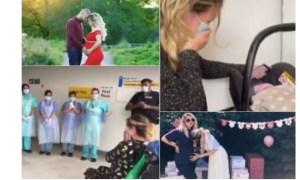 """(Video) Infectată. Româncă din Londra însărcinată. """"Mi-au zis că trebuie să scoată copilul şi că am şanse 50-50 să trăiesc sau să mor pentru că plămânii mei sunt foarte foarte afectaţi"""" 24"""