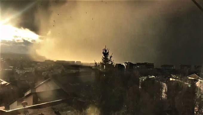 (Foto/Video) Furtuna Ciara a lovit și în România. Acoperișuri smulse la Baia Mare și Suceava 4