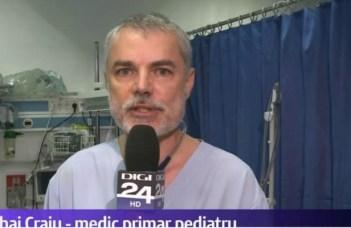 """Medicul Craiu Mihai: """"Acum când a murit de gripă primul copil în anul 2020 este momentul să ne gândim la responsabilități. Oare este normal ca un copil aflat de două ori la risc (avea sub 5 ani si avea boli asociate) să nu fie vaccinat în România?  Câți copii ar mai trebui să ..."""" 1"""