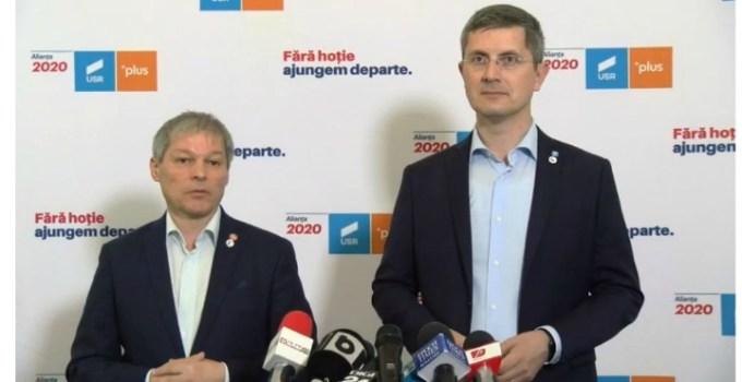 """USR vrea să intre la Guvernare și îl propune pe Cioloș premier! Dan Barna: """"USR susține dizolvarea acestui parlament și organizarea de alegeri anticipate. Actualul Parlament, dominat de o majoritate toxică, și-a dovedit limitele. România nu poate merge înainte cu el. Am luat act de ..."""" 7"""