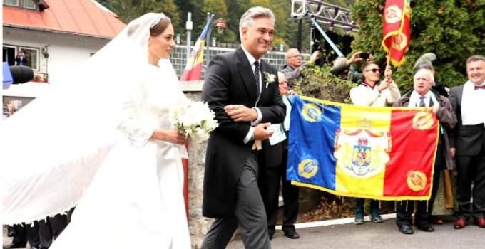 (Foto) Cine este Alina-Maria Binder, soția prințului Nicolae. Imagine de la nunta lor de astăzi 16