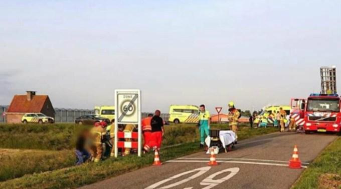 Doi români morți în Olanda, alți 7 răniți, în microbuzul care îi ducea la muncă 1