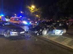 Moarte cumplită: femeie călcată de 4 mașini. Femeia a decedat pe loc, bucăţi din trupul ei fiind împrăşiate pe zeci de metri 9