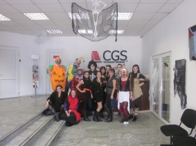 CGS Brasov, Halloween party at work (18)