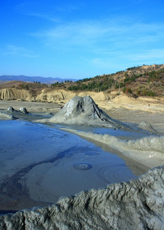 muddy volcanoes romania scenery