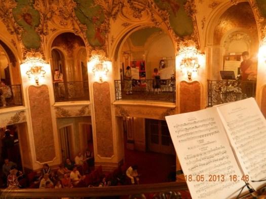 Cantacuzino palace Romania eastern Europe George Enescu museum 1