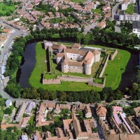 Medieval castle - citadel of Fagaras