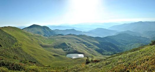 Lacul Vulturilor Bottomless lake buzau Romania beautiful natural panorama romanians