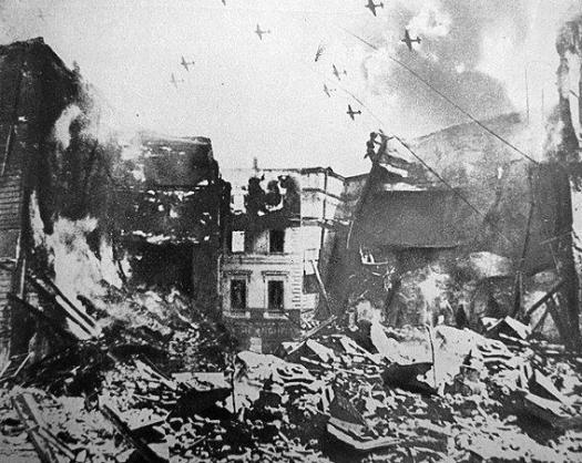 0 april 1944 Bucharest bombing romania world war 2 bombardamente bucuresti