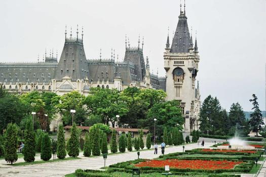 Palatul Culturii Iasi Romania Culture Palace european romanian palaces