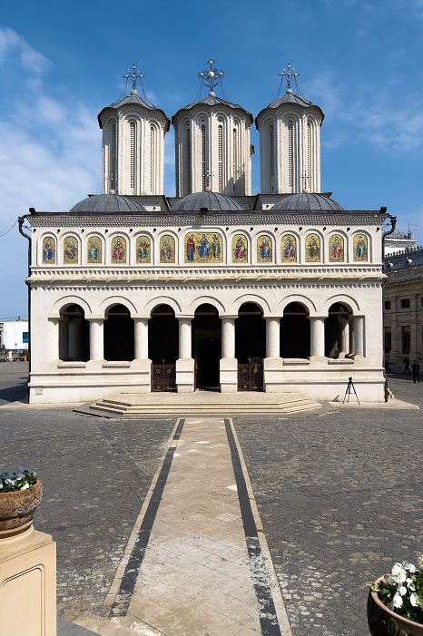 """Biserica Patriarhiei, cu hramul """"Sfinţii Împãraţi Constantin şi Elena"""" (București)"""
