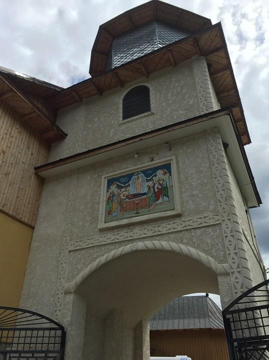 Mănăstirea Rarău - Turnul-Clopotniță (Com. Crucea, jud. Suceava)