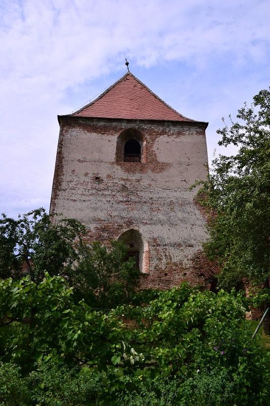 Cetatea ţărănească de la Slimnic (Stolzenburg) (jud. Sibiu) - Turnul-clopotniță